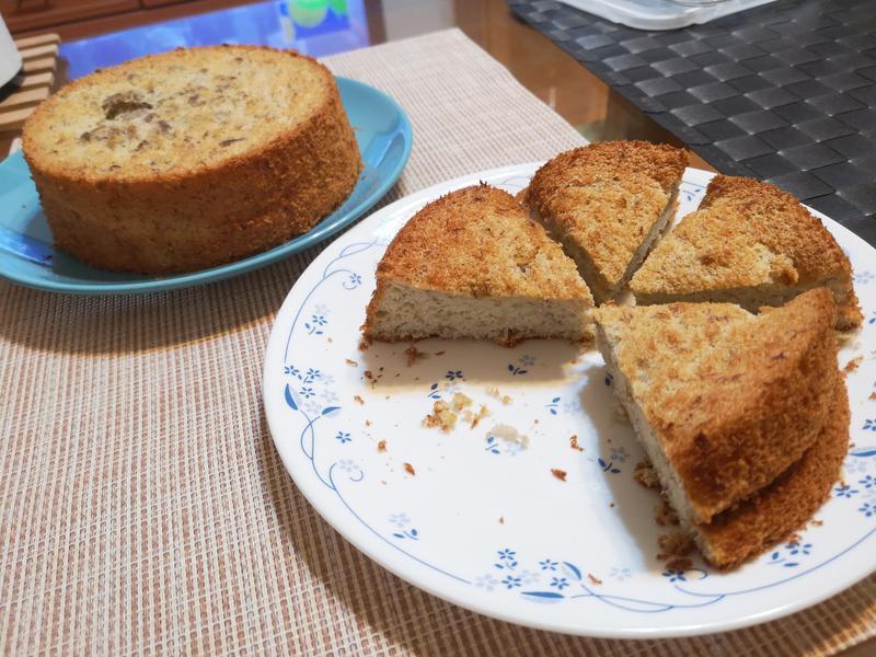 香蕉蜂蜜海綿蛋糕