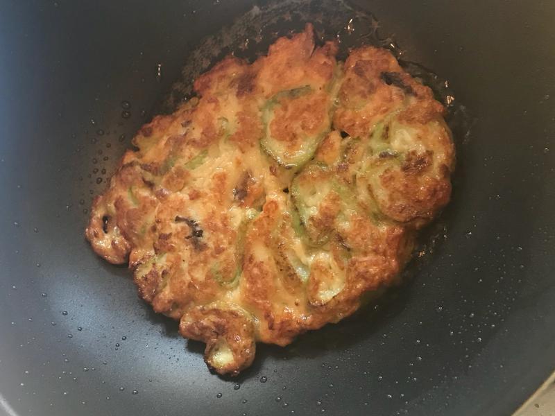 簡易絲瓜煎餅