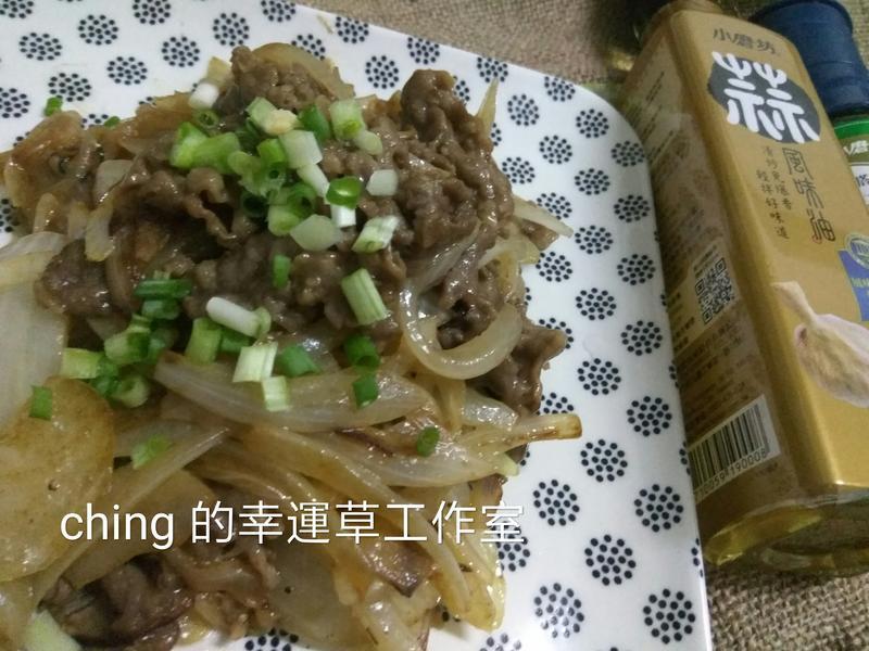 十分鐘上菜-蒜香奶油炒牛肉