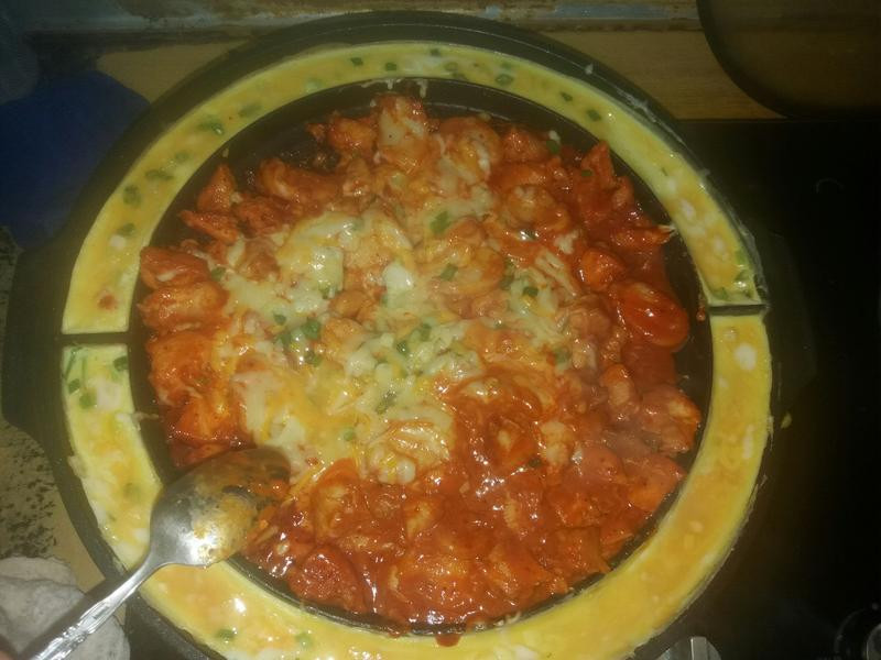 韓式起司辣炒雞