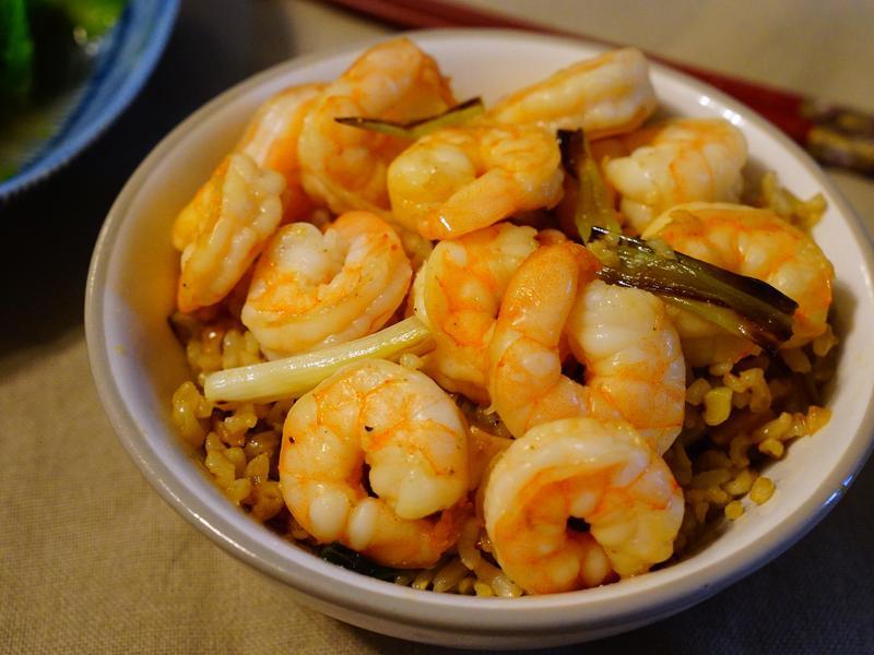 台南蝦仁飯