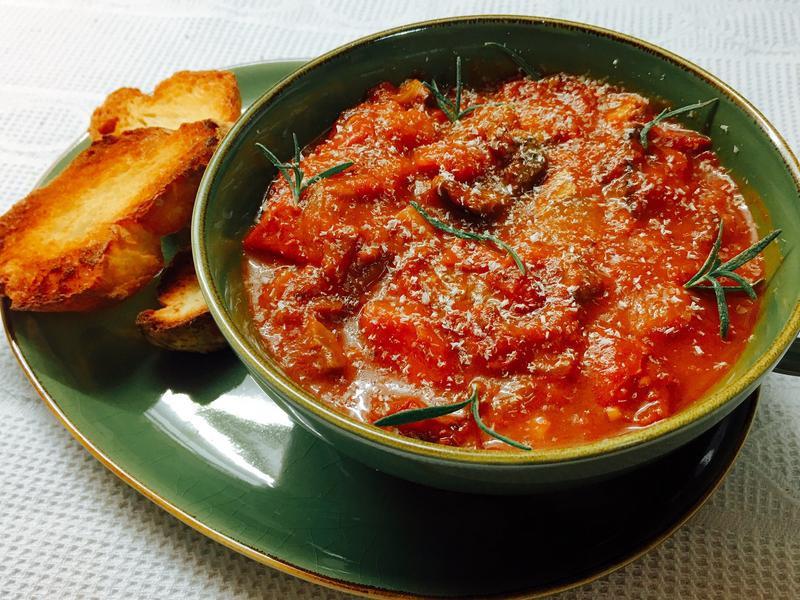 義大利牛肉蕃茄濃湯