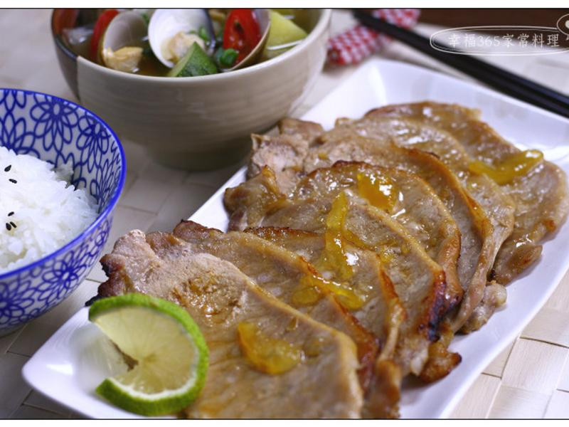韓式柚醬燒肉+大醬湯〔夏普水波爐料理〕