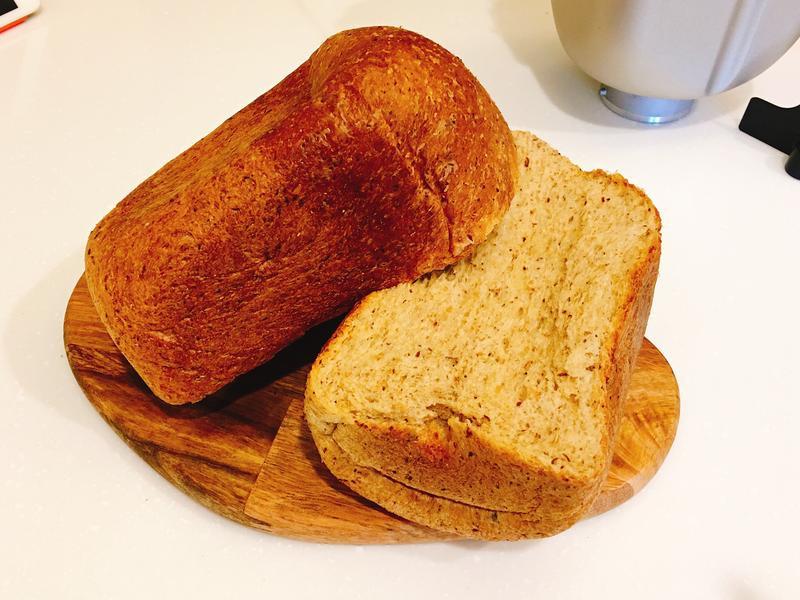 生酮吐司(老爺爺低碳預拌粉✖️麵包機)