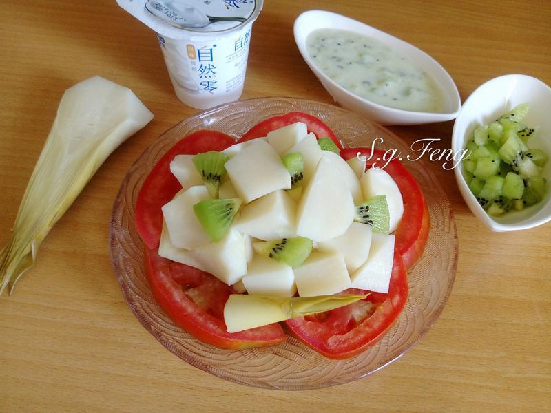 奇異果優酪綠竹筍