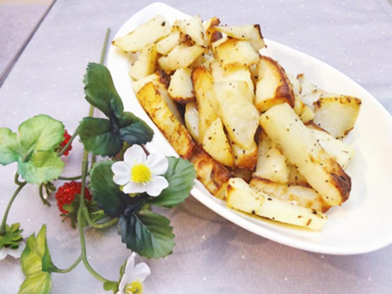 小烤箱的(偽)薯條【莎拉游亂做廚房】