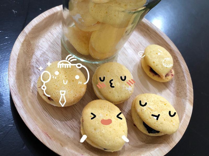 (寶寶點心)減糖版台式馬卡龍