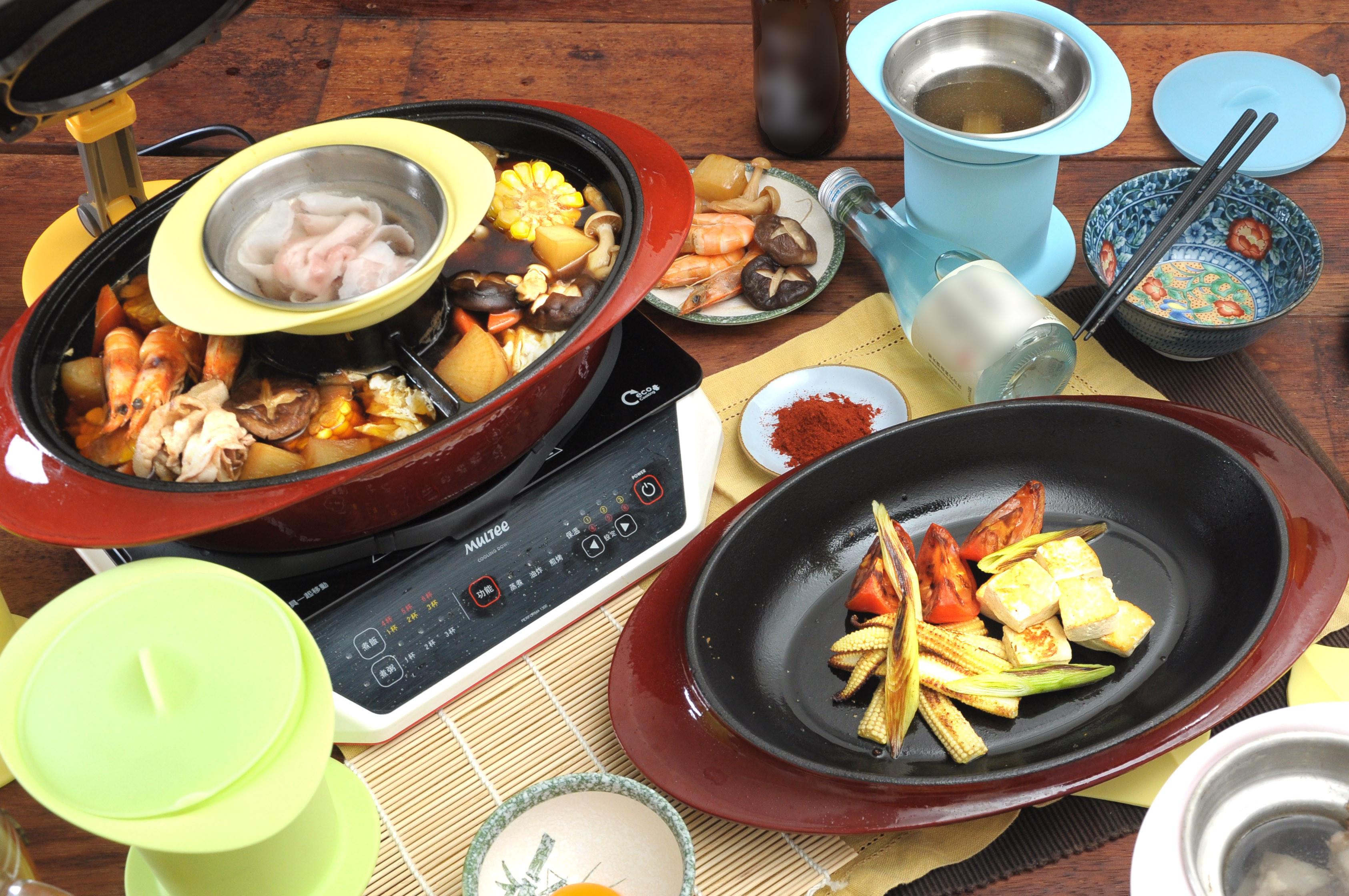 【摩堤_神氣鍋料理】雙味壽喜燒×乾煎蔬食