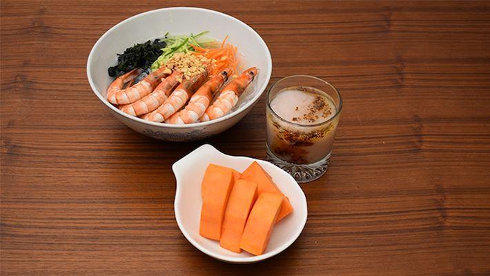 【慢性腎臟病】夏-泰式海鮮蒟蒻麵套餐