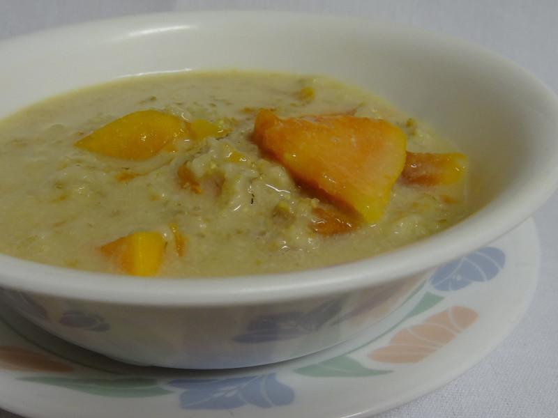 燕麥木瓜粥