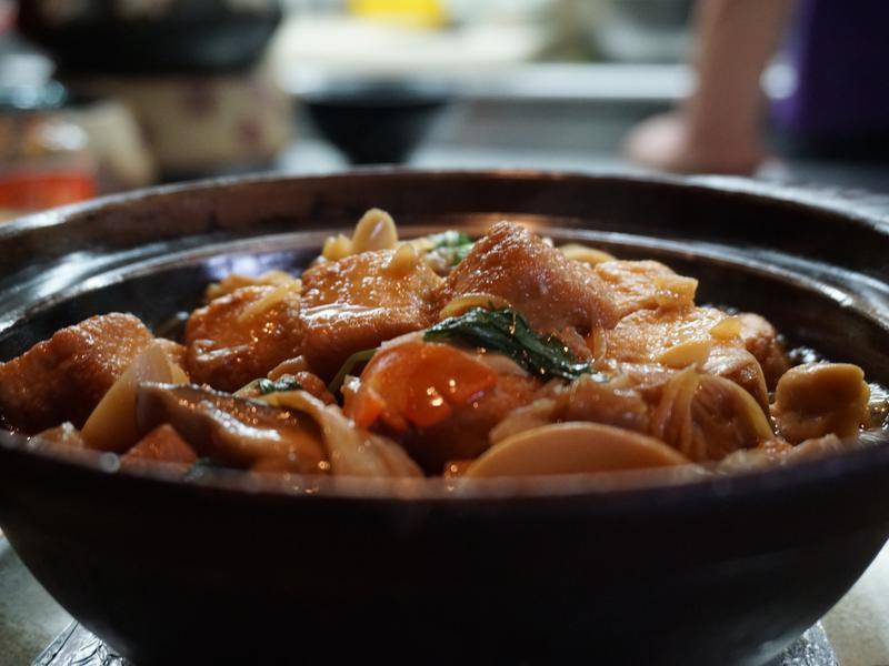 客家燒豆腐(煲鍋版)