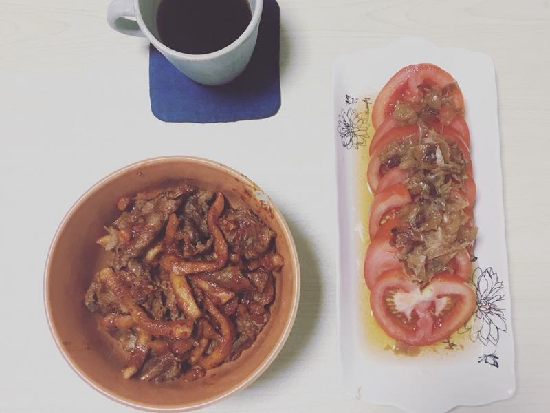 梅干煎酒番茄