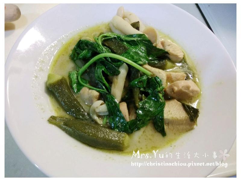 簡單易做又好吃的~泰式綠咖哩雞