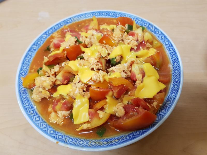 親子手作:番茄炒蛋
