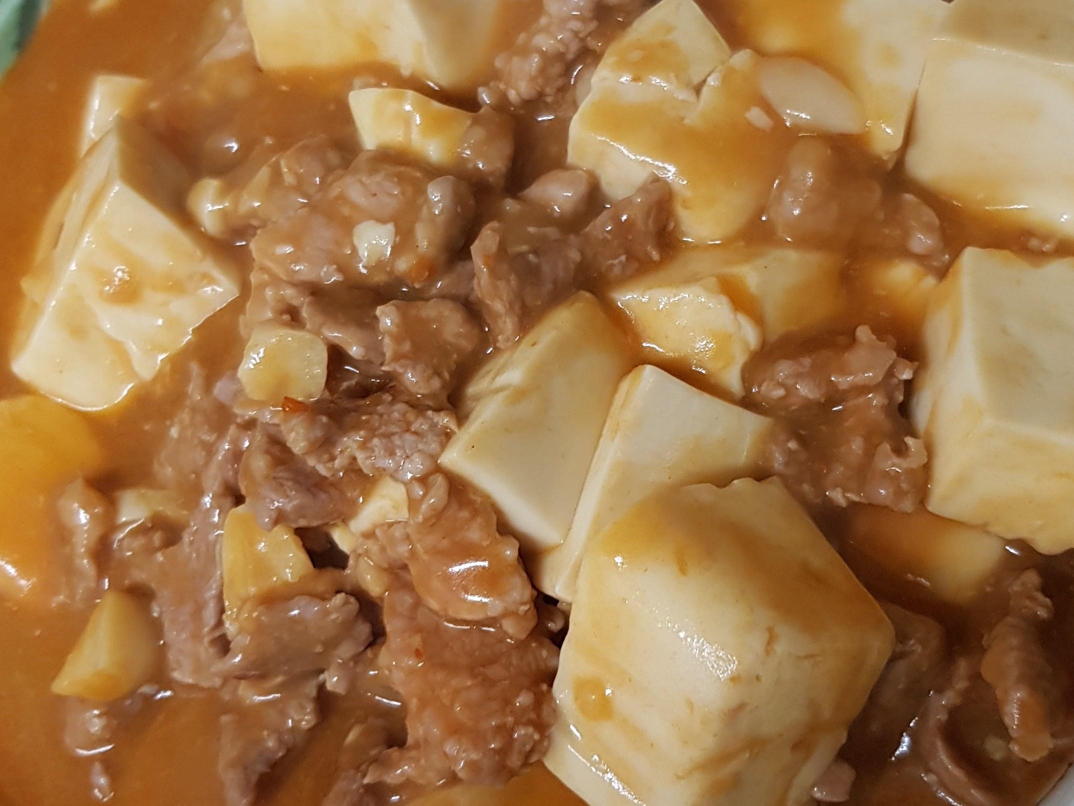 親子手作:不辣的麻婆豆腐