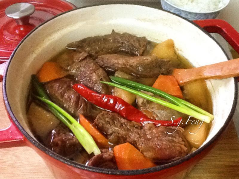 香滷牛肉(牛肉麵&牛肉飯)