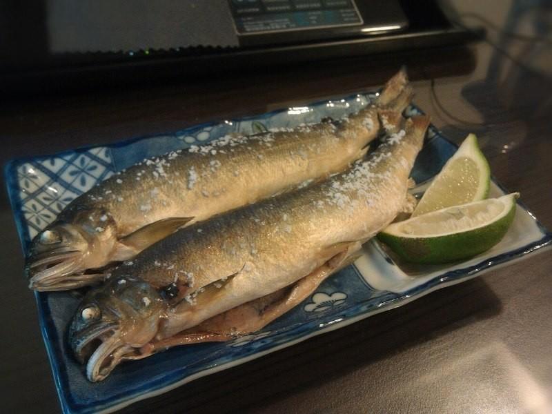 品靚上菜-鹽烤香魚
