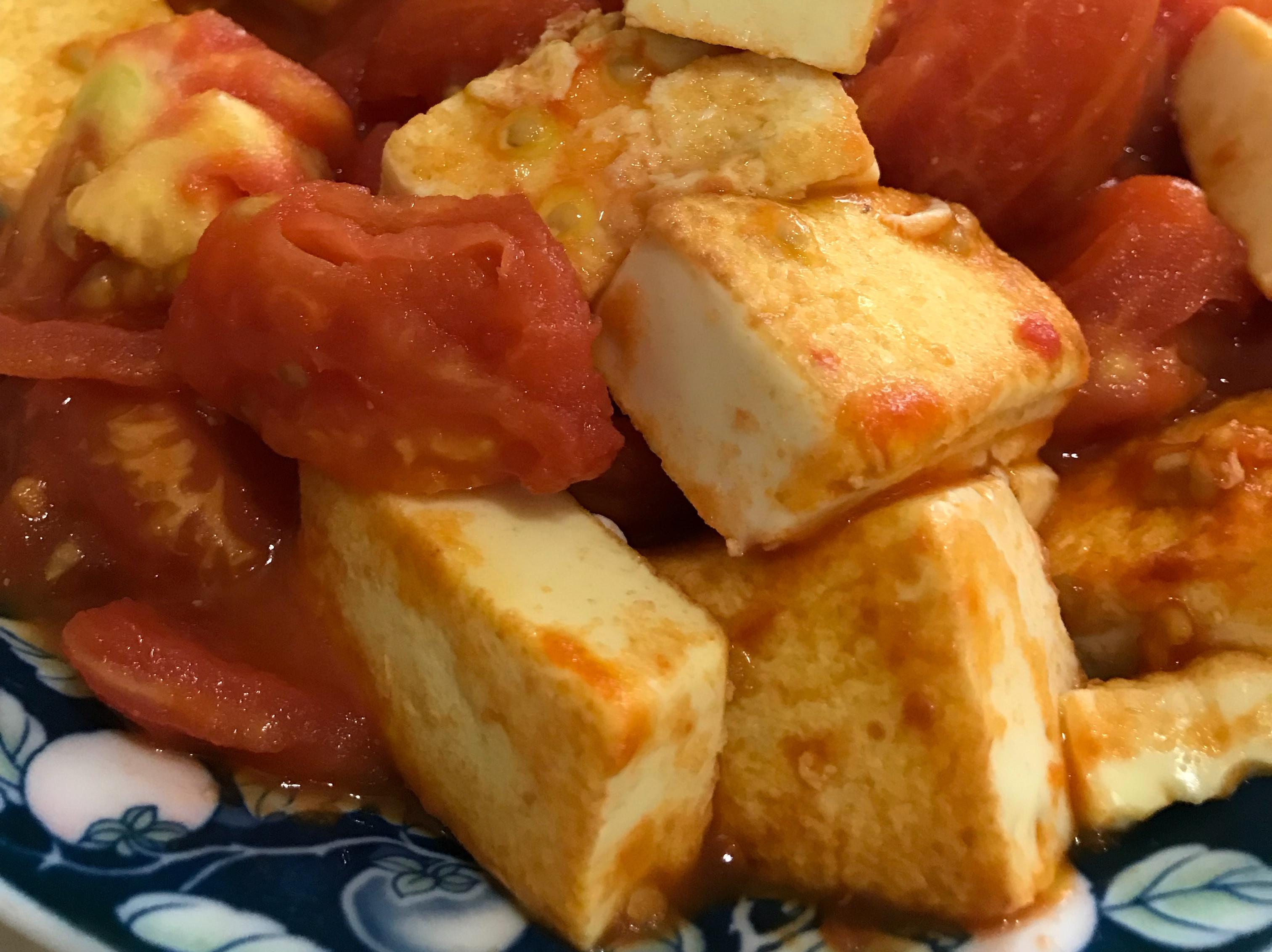 藍家小館-番茄煨雞蛋豆腐