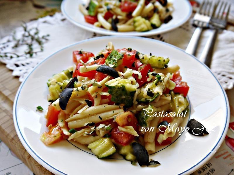 蔬果麵沙拉