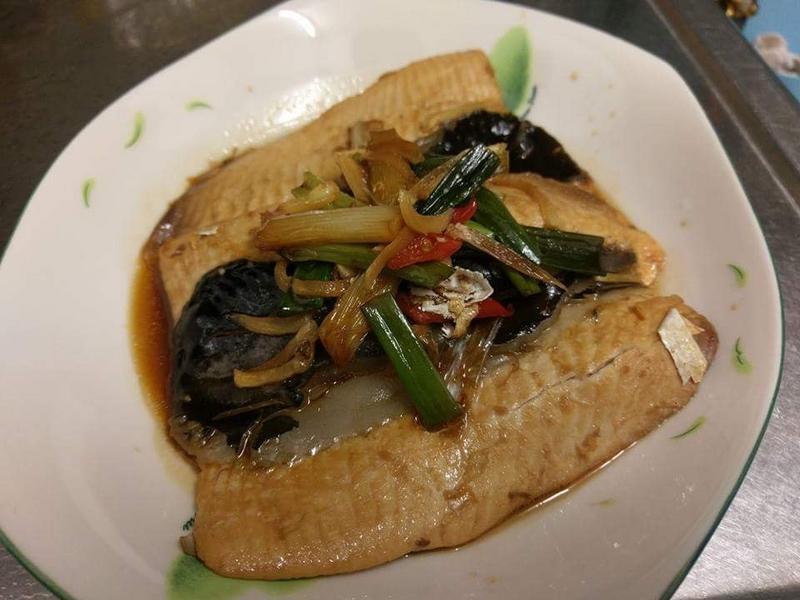紅燒虱目魚肚