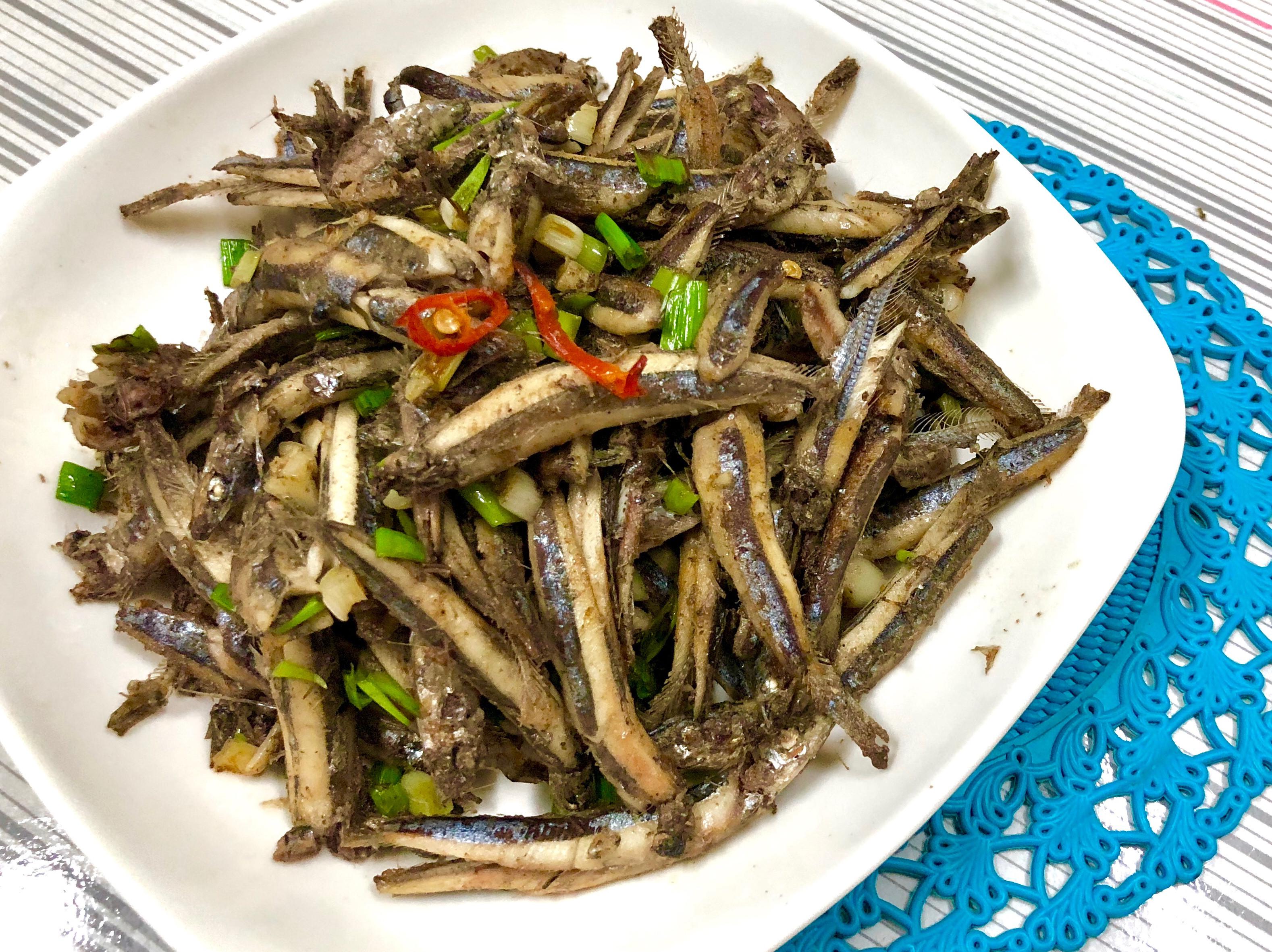 椒鹽丁香魚