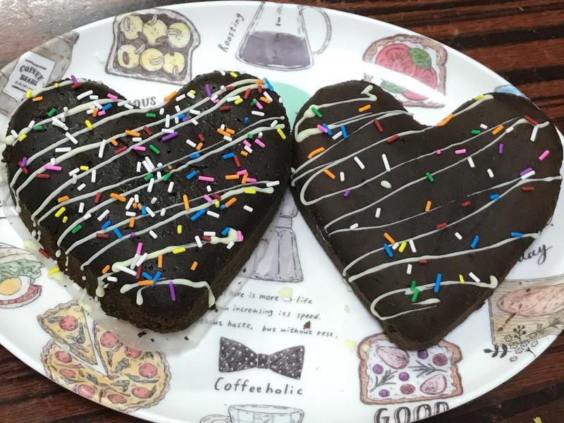 黑巧克力布朗尼 Brownie