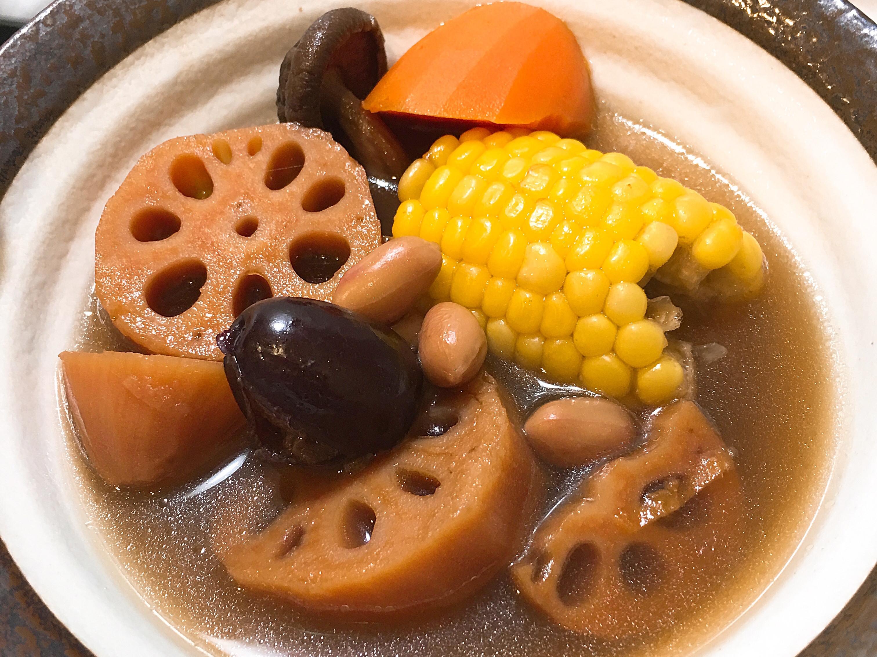蓮藕湯~全素