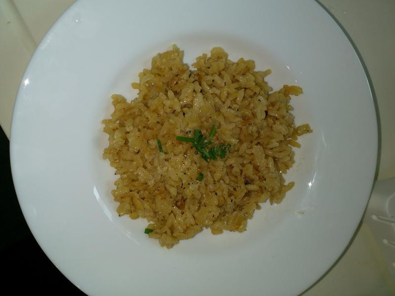 No meat risotto