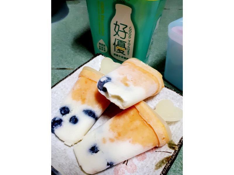 藍莓地瓜優酪冰棒