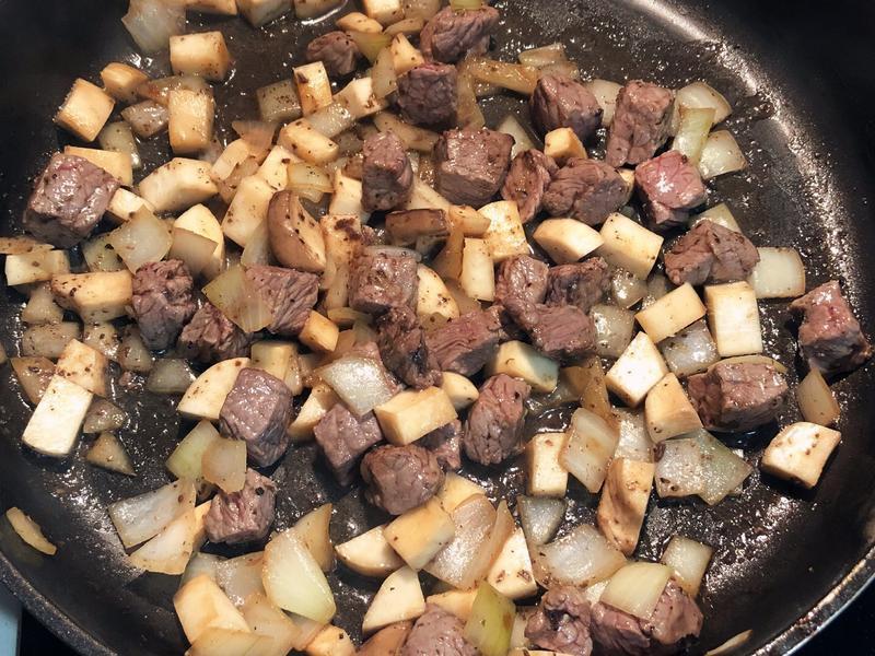 黑松露杏鮑菇炒牛肉