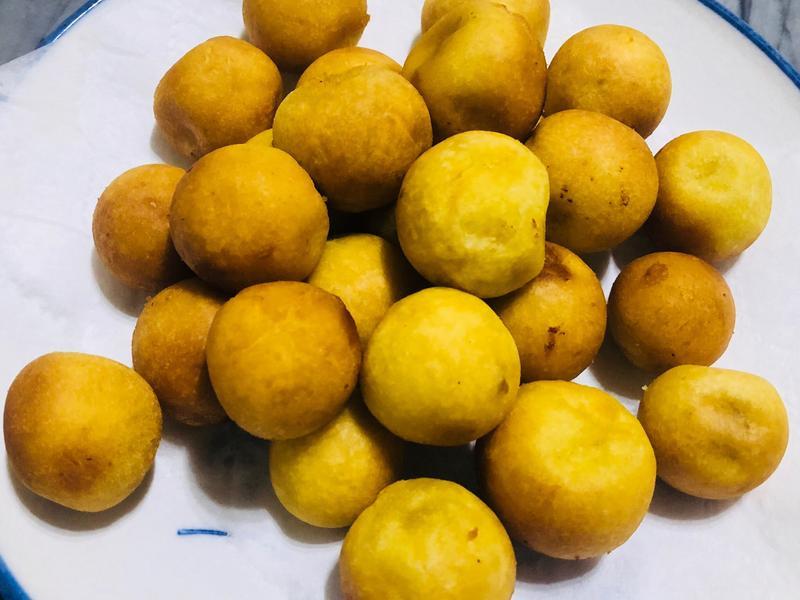 「黃金QQ蛋」彈牙地瓜球🍠