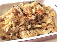 高麗菜菇菇炊飯