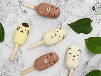 【拉拉熊】冰棒棒棒糖蛋糕(巧克力蛋糕體)