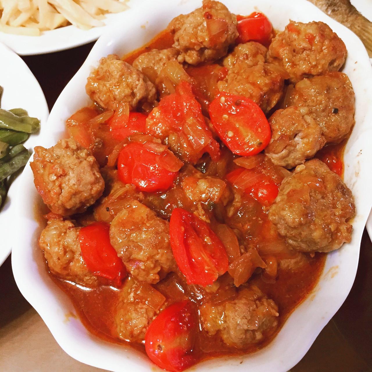 義式番茄小肉丸