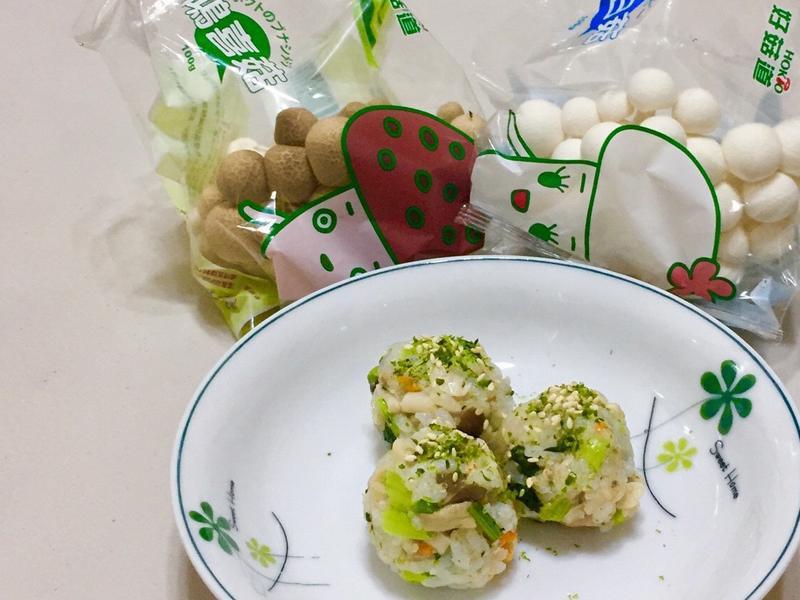 菇菇鮪魚小飯糰【好菇道親子食光】