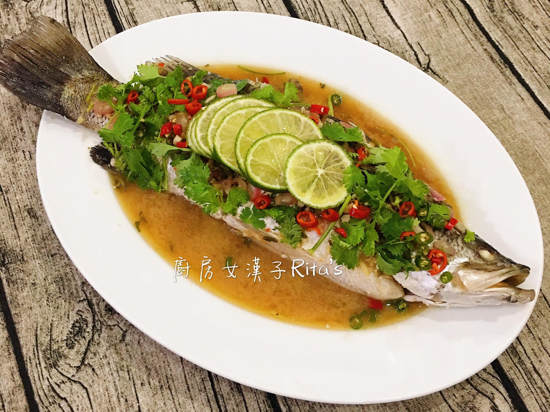 泰式檸檬蒸魚