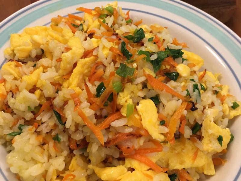 紅蘿蔔蛋炒飯