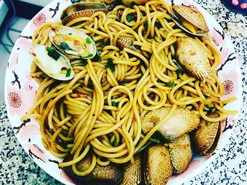 文蛤義大利麵