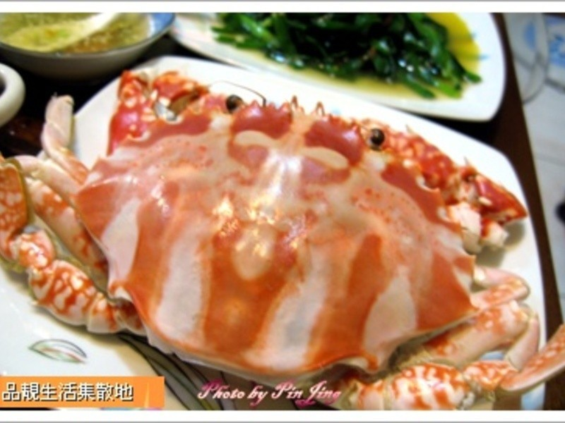 品靚上菜-清蒸花蟹