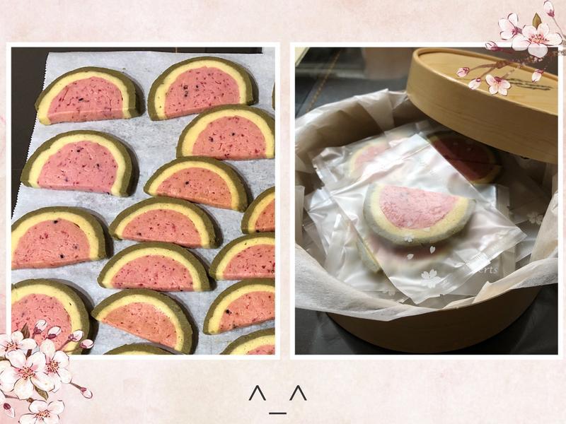 西瓜餅乾(火龍果版)