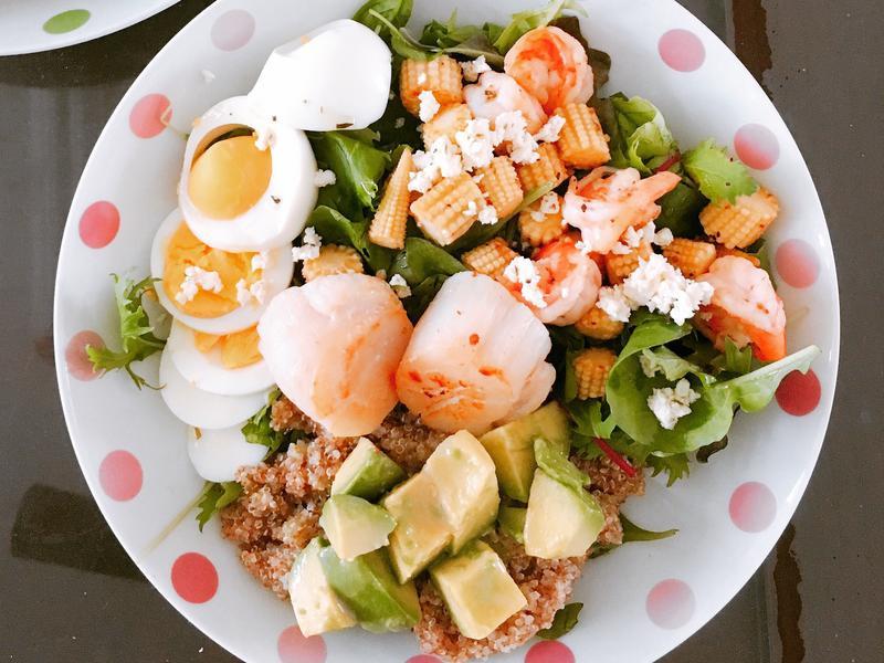 藜麥海鮮沙拉
