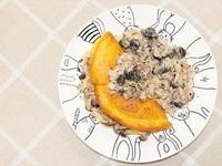 悠閒時光早餐《野菇厚蛋煎歐姆蕾》