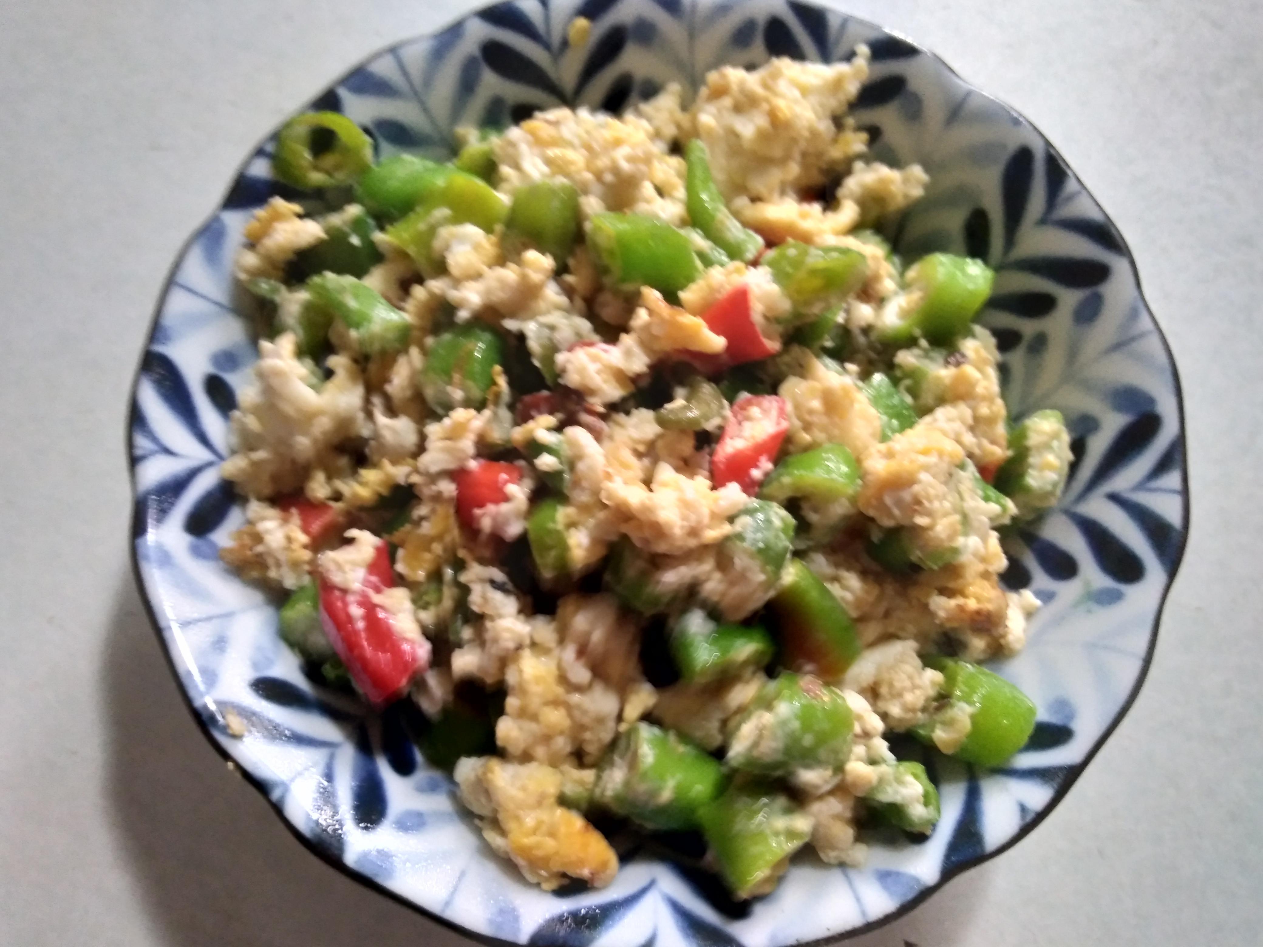 糯米椒炒蛋