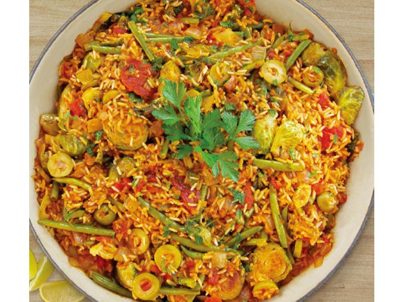 西班牙椰香蔬菜燉飯