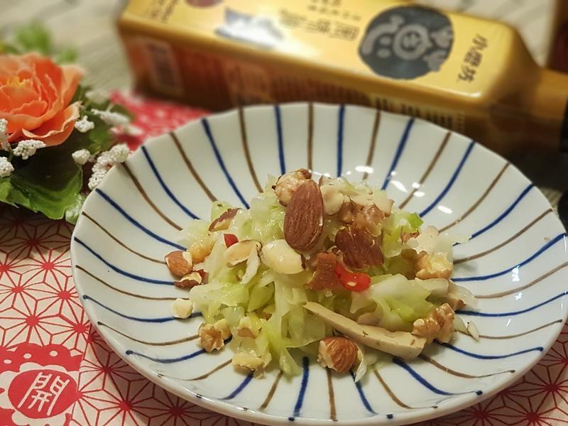涼拌核果高麗菜