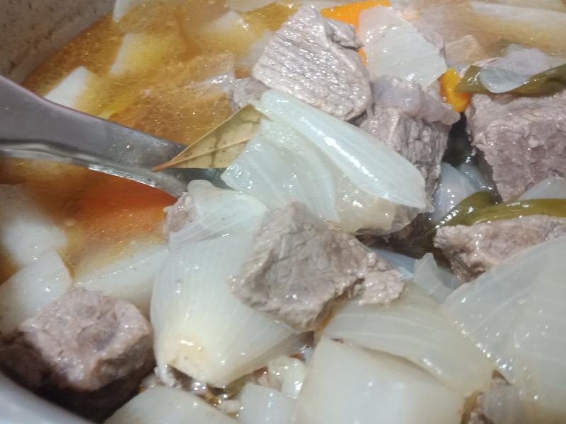 好嫩的清燉牛肉湯<電鍋版>