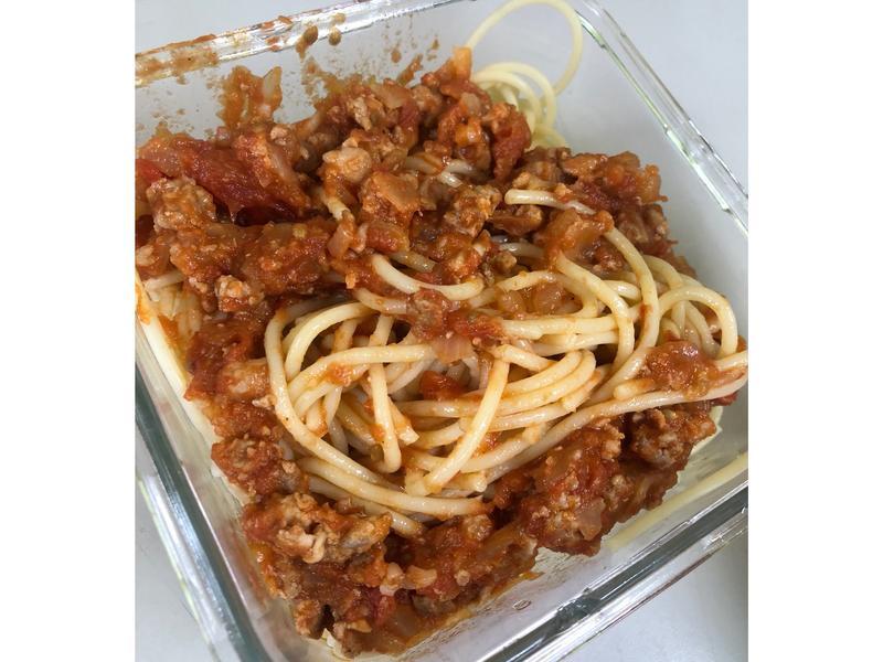 🍅蕃茄肉醬義大利麵