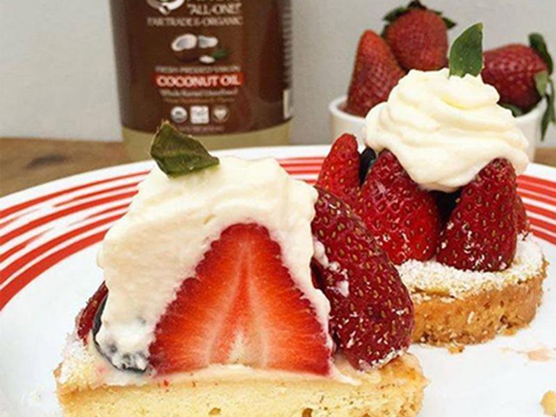 草莓椰香小酥餅