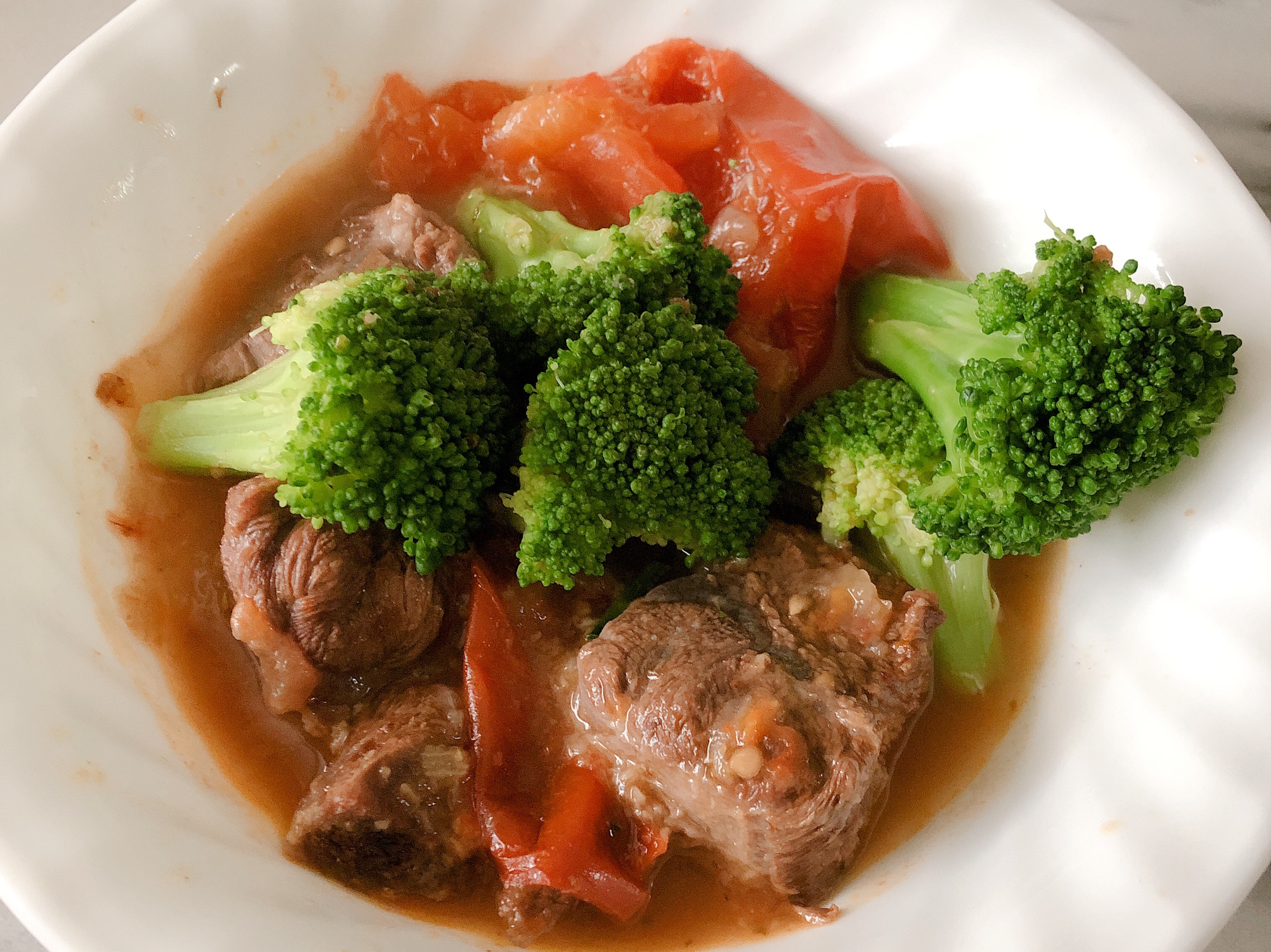 無水番茄牛肉