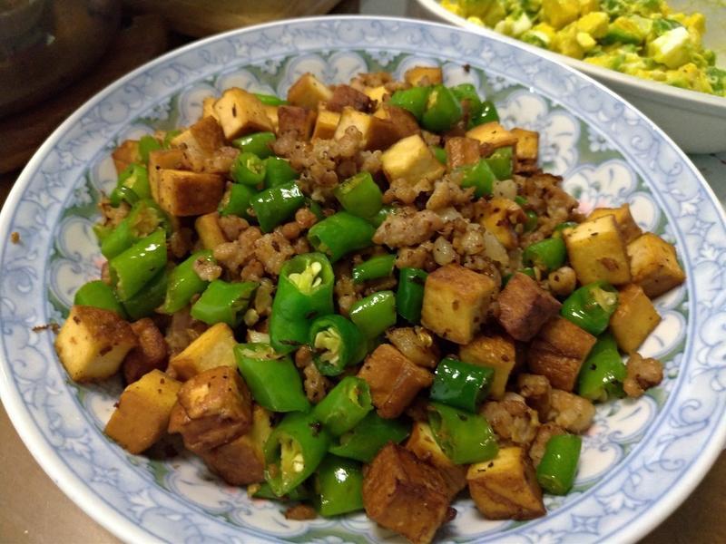 糯米椒炒豬肉